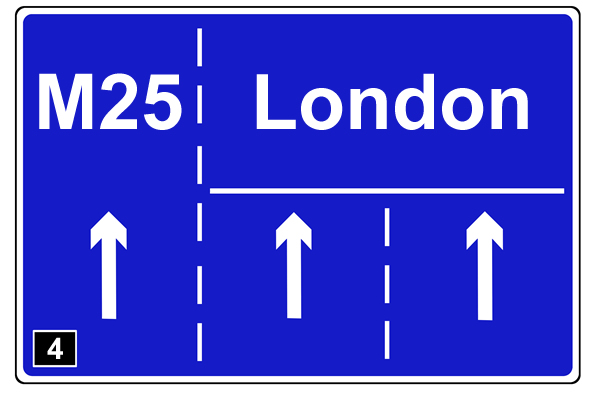 London and M25